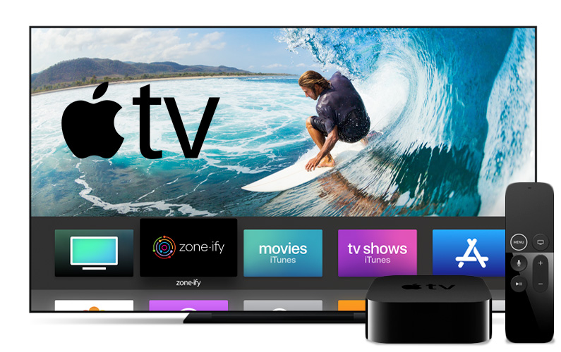 Zone·ify™ is now available on Apple TV!
