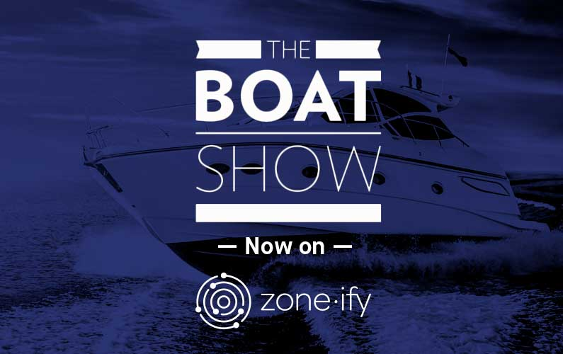 Zone·tv™ and The Boat Show® TV On-Board World Class Boating Shows for the MOTORS Channel on Zone·ify™