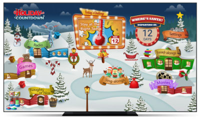 Pay TV Viewers Celebrate the Holiday Season with the Zone·tv™ Holiday Countdown