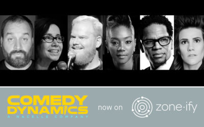 Zone·tv™ and Comedy Dynamics Partner to Deliver Gut Wrenching Laughs on the Zone·ify™ Expression Channel
