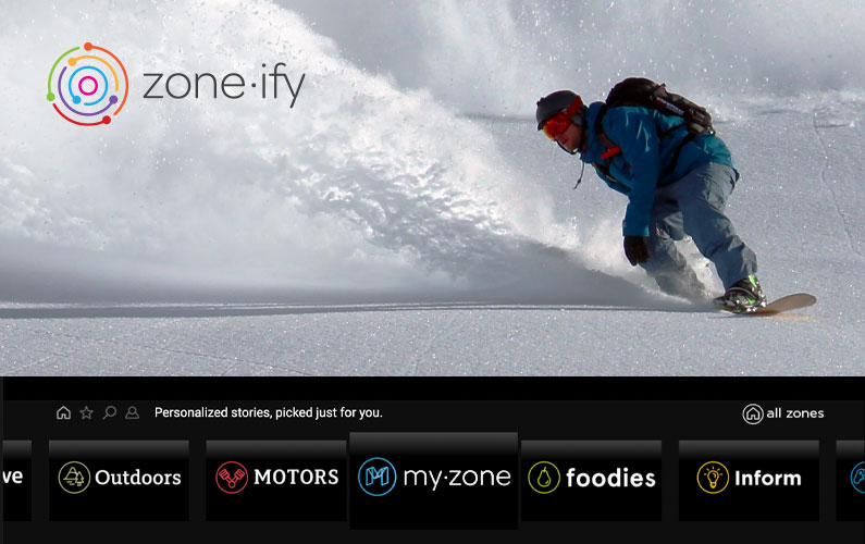 Zone·tv's™ Groundbreaking Zone·ify™ App Launches on Rogers Ignite TV