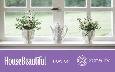 """Zone·tv™ and House Beautiful Tackle Home Décor on the Zone·ify™ Styler Channel Making the Most of """"Stay at Home"""""""
