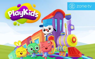 """Zone·tv™ joins SLING TV's free """"Stay in & SLING"""" Initiative with PlayKids"""