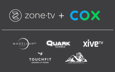 Zone·tv™ and Cox Launch Inspirational and Informative SVODs to Contour TV Customers