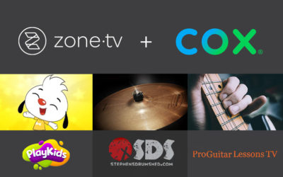 Zone·tv™ and Cox Are Proud to Offer Three SVOD Previews to Contour TV Customers Beginning April 9
