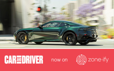 Zone·tv™ Serves Up Car and Driver Magazine on the Zone·ify™ Motors Channel