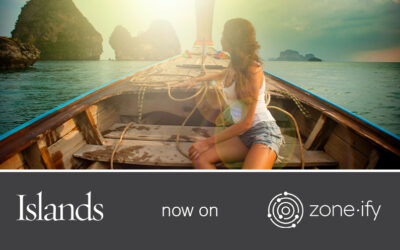 Zone·tv™ and Islands Delight Viewers with Breathtaking Travel Experiences and Advice on Zone·ify™