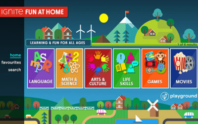 "Zone·tv Introduces ""Fun at Home"" for Rogers Ignite TV Customers"