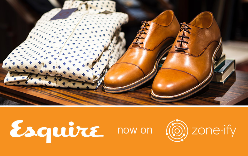 Zone·tv™ and Esquire Magazine Feature Men's Lifestyle, Fashion, Fitness and More on the Zone·ify™ Mancave Channel