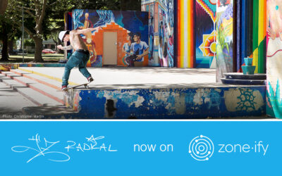 Zone·tv and Daredevil Skateboarder JZ Radical Carve into the Zone·ify Game On Channel