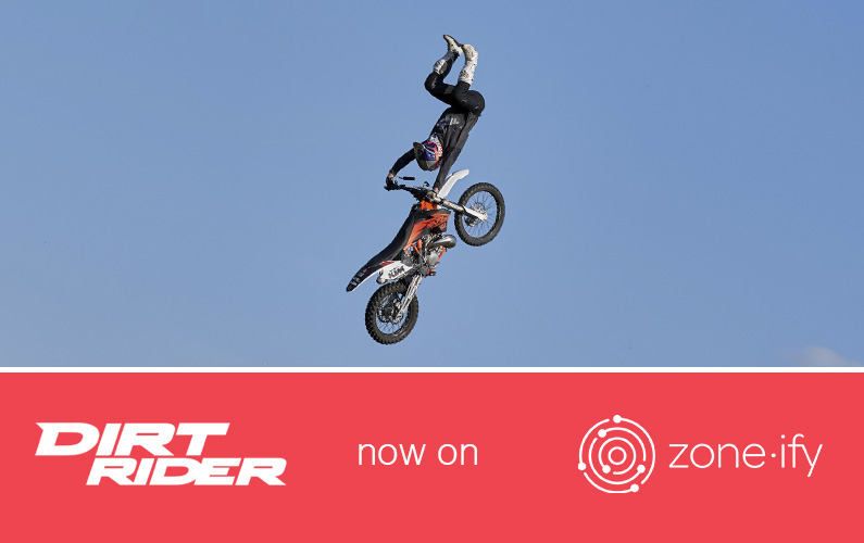 Zone·tv and Dirt Rider Rip into the Zone·ify Motors Channel