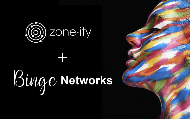 Zone·tv Strikes Licensing Deal with Award-Winning Platform BINGE Networks