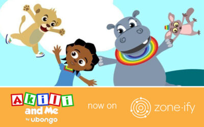 Zone·tv Brings Edutainment Content to the Zone·ify Playground Channel Through Kids Brand Akili and Me