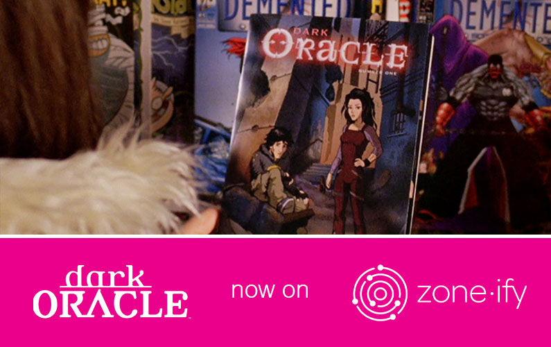 Zone·tv Adds Emmy Award-Winning Entertainment Series Dark Oracle to the Zone·ify Hangout Channel