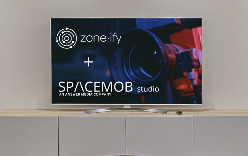 "Zone·tv Strikes Licensing Deal with Production and Distribution Studio ""SPACEMOB"""