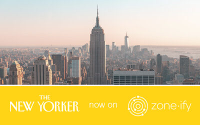 """Zone·tv and """"The New Yorker"""" Serve Up Cultural Commentary to the Zone·ify Inform Channel"""