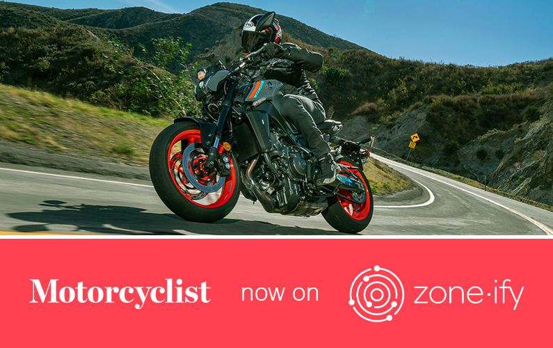 """Zone•tv and """"Motorcyclist"""" Deliver the Best in Motoring to Riders Everywhere on the Zone•ify Motors Channel"""