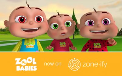 """Zone•tv and """"Zool Babies"""" Deliver Fun and Immersive Programming to the zone•ify Playground Channel"""